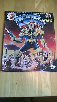 The Best Of 2000 Ad Vintage Comic No 13