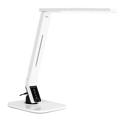 Black Table Lamp By Oneconcept Led Light Desk Lighting Mp3 Usb Charging Bright
