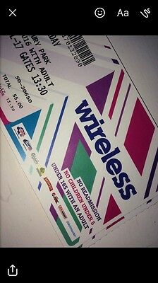 2 Wireless Tickets for Friday