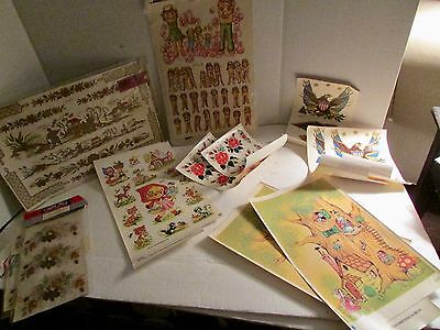 Vintage Meyercord Decal Lot