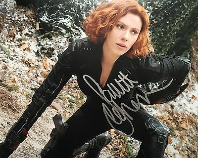 Scarlett Johansson (Black Widow) Hand Signed 8x10 Photo - COA included