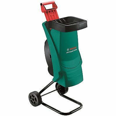 Bosch™ 2200W Electric Garden Shredder Mulcher Wood Chipper Machine -2yr Warranty