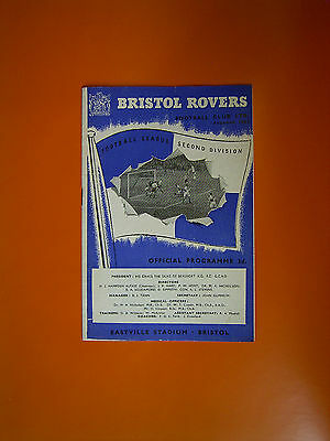 League Division Two - Bristol Rovers v Swansea Town - 15th October 1955