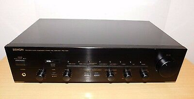 Vintage DENON PRA-1500 Stereo Pre-Amplifier MM/MC Phono State Remote Capable