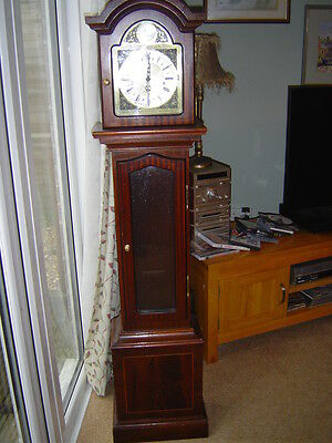 Thomas Byrne Reproduction chiming Grandmother Clock