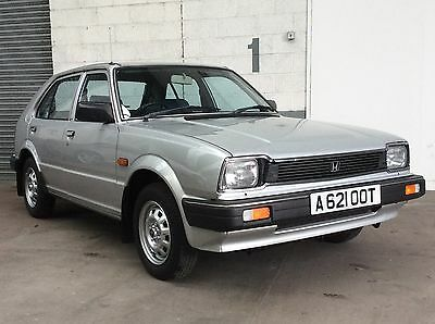 Honda Civic 5 Door Auto 1983 Silver Blue Cloth Only 12,000 Miles From New