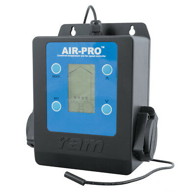 Hydroponics, Ram Air Pro 2 Intelligent Temperature And Fan Speed Controller