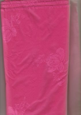 Pink Silk Floral Pattern Material 36 inch wide by 4 yards $8.00 per yard $32.00