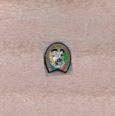 International Equestrian Federation Fei Official Referee Pin Old