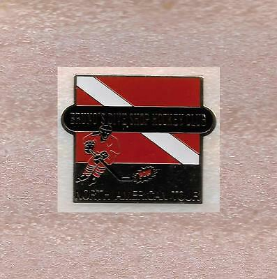 Bruno's Dive Shop Hockey Club North American Tour Official Pin Old