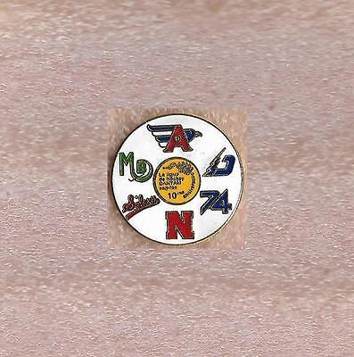 10th Anniversary Ligue Midget AAA Junior Hockey Quebec Canada Official Pin Old