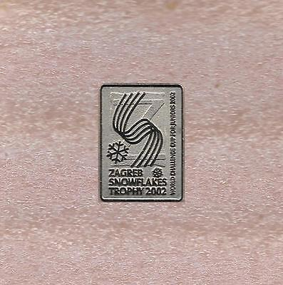 2002 World Juniors Challenge Cup Synchronized Skating Croatia Official Pin Old