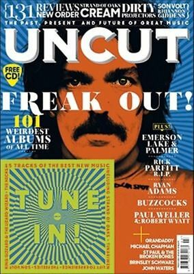 Uncut Magazine + CD March 2017 - 101 Weirdest Albums Of All Time (NOBARCODE)