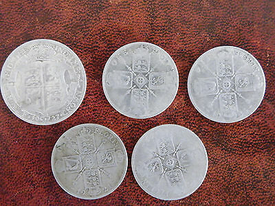 George V silver coins