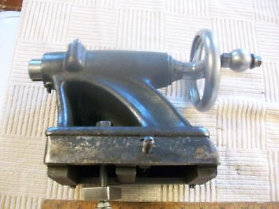 """Tailstock Assembly 10D-5 From  10"""" Atlas Metal Lathe Model QC54 Serial 081964"""