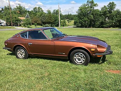 1974 Datsun Z-Series Base Model Datsun 260z Reliable Daily Driver Mostly Restored