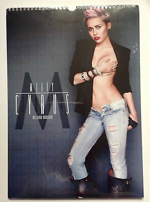 Miley Cyrus Official 2014 Calendar Brand New & Sealed Free UK Postage