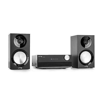 Hifi 2 Way Speaker Bluetooth Mp3 Player Usb Cd Player Home Stereo System Cd Fm