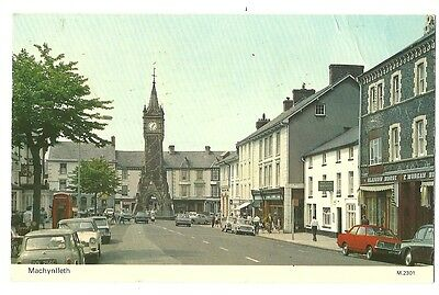 Machynlleth - a photographic postcard