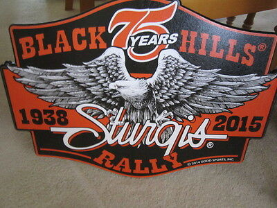 Sturgis Motorcycle Rally 75 Years Black Hills  Sign Wall Decor Harley Davidson