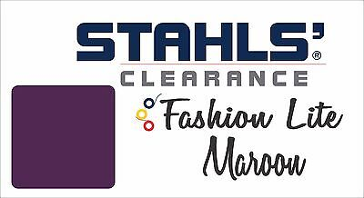 "15"" x 20 Yards - Stahls' Fashion-LITE Heat Transfer Vinyl - HTV - Maroon"