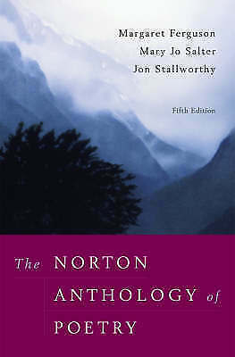 The Norton Anthology of Poetry by WW Norton & Co (Paperback, 2005)