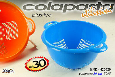 Colapasta In Plastica Utilissimi Colori Assortiti Ø30Cm End-426629
