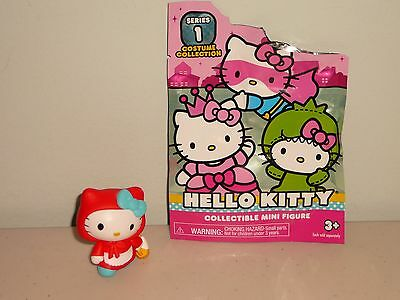 """New~Opened Hello Kitty """"red Riding Hood"""" Blind Bag 2016 Series 1 Costume Collect"""