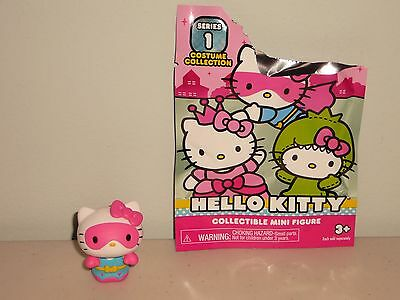 """New~Opened Hello Kitty """"super Hero"""" Blind Bag 2016 Series 1 Costume Collect Fig"""