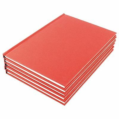 Manuscript A4 Book Ruled Feint (Pack of 5) WX01060, 210 x 297mm [WX01060]