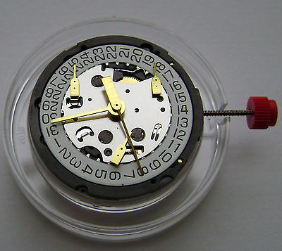 Eta G15.211 Date At 3 Watch Movement Genuine Swiss Made New Factory Sealed