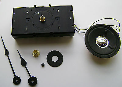 Hermle W2119 Quartz Clock Movement 16Mm Shaft Hands & Hardware  Made In Germany