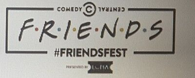 2 x Friends Fest tickets in London 18th September, 3.30pm Set Tour