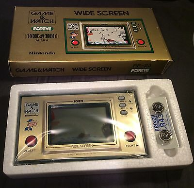 Original Nintendo Game & Watch Popeye Pp - 23 New In Box For Sale!