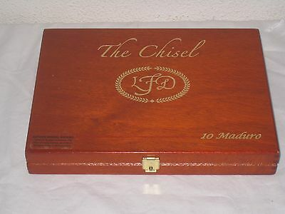 LFD The Chisel Wooden Cigar Box
