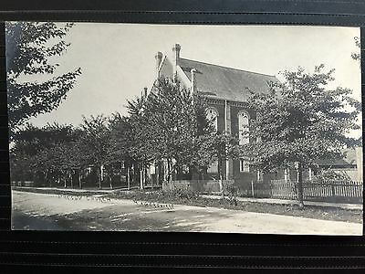 C. 1901-1907 Real Photo Postcard Presbyterian Church HAGERSVILLE Ontario Canada