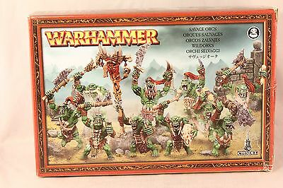Warhammer Orcs and Goblins Savage Orcs