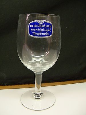 Morgantown THE PRESIDENT'S HOUSE Wine Goblet(s) MINT w/ Factory Sticker 2749