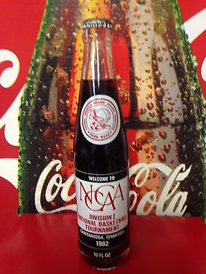 Coca-Cola Bottle NCCAA Division 1 National Basketball Tournament 1982 HTF++