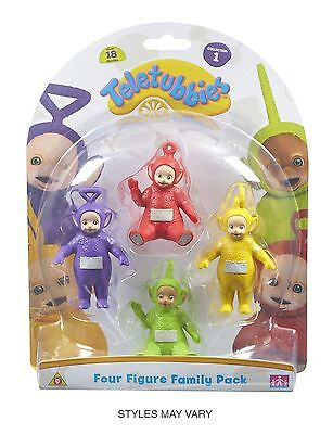 Teletubbies Family Figure (Pack of 4, Multi-Colour)