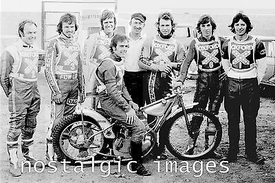 Photo Taken From A 1975 Image Of The Oxford Rebels   Speedway Team