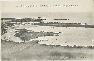Small Harbour-Omonville-la Rogue,Cherbourg peninsula 1917(F.C474 on green card)