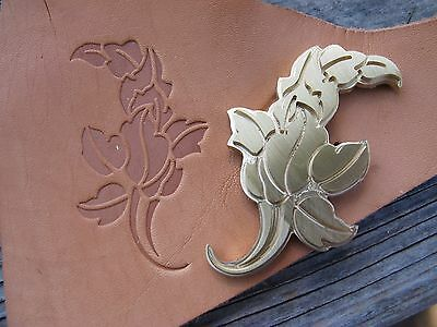 GRAPE LEAF BOUQUET Leather Bookbinding Finishing tool Stamp EMBOSSING die