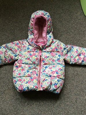 Joules Baby Girl Padded Coat 6-9 Months