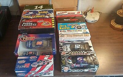 lot of 11 nascar diecast 1:24 scale