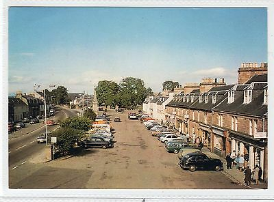 THE VILLAGE SQUARE, BEAULY: Inverness-shire postcard (C28970)