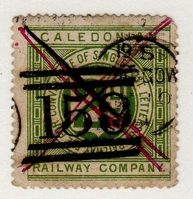Caledonian Railway letter stamp (C28839)