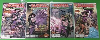 Mrs. Deadpool and the Howling Commandos #1 2 3 4 Run Lot Complete Marvel Comics