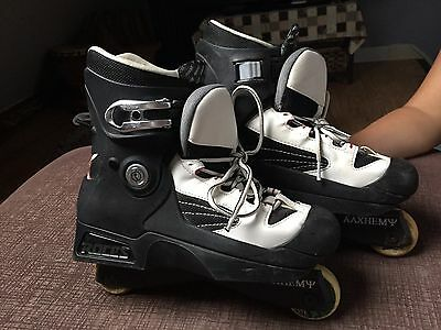 Roces inline skates Uk 7-8 With Alchemy (ΑΛΧΗΕΜΨ) Freestyle Frame