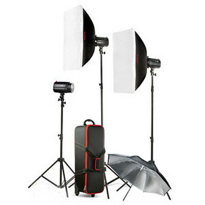 Godox K-180a 3 Head Flash kit